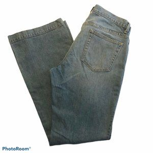 Gap Long and Lean Boot Cut Jeans Size 12R Light